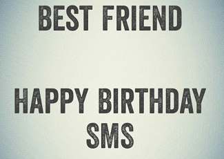 Happy Birthday SMS Wishes Quotes for Best Friend in Hindi
